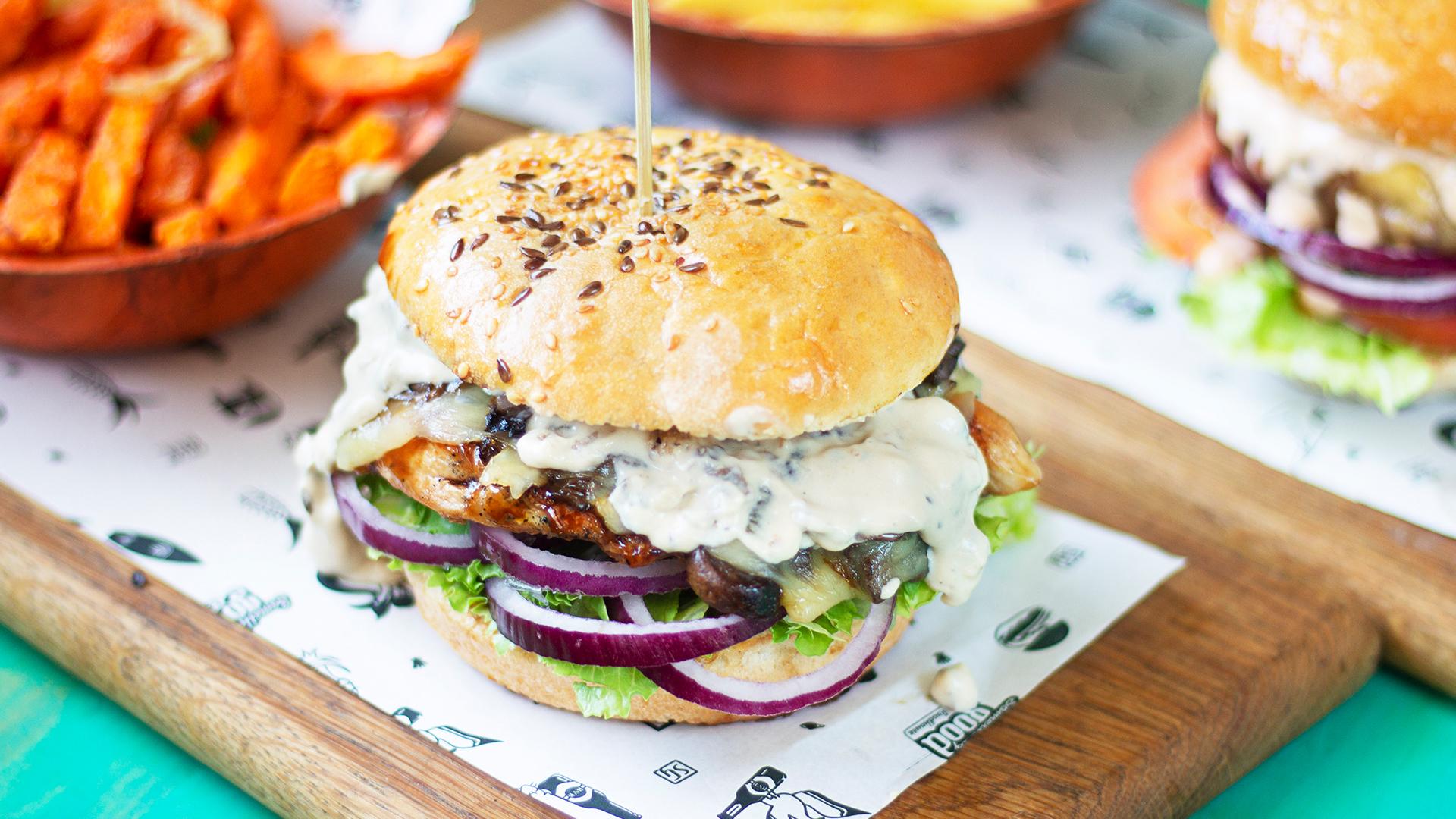 Something Good Roadhouse Port Elizabeth Burger