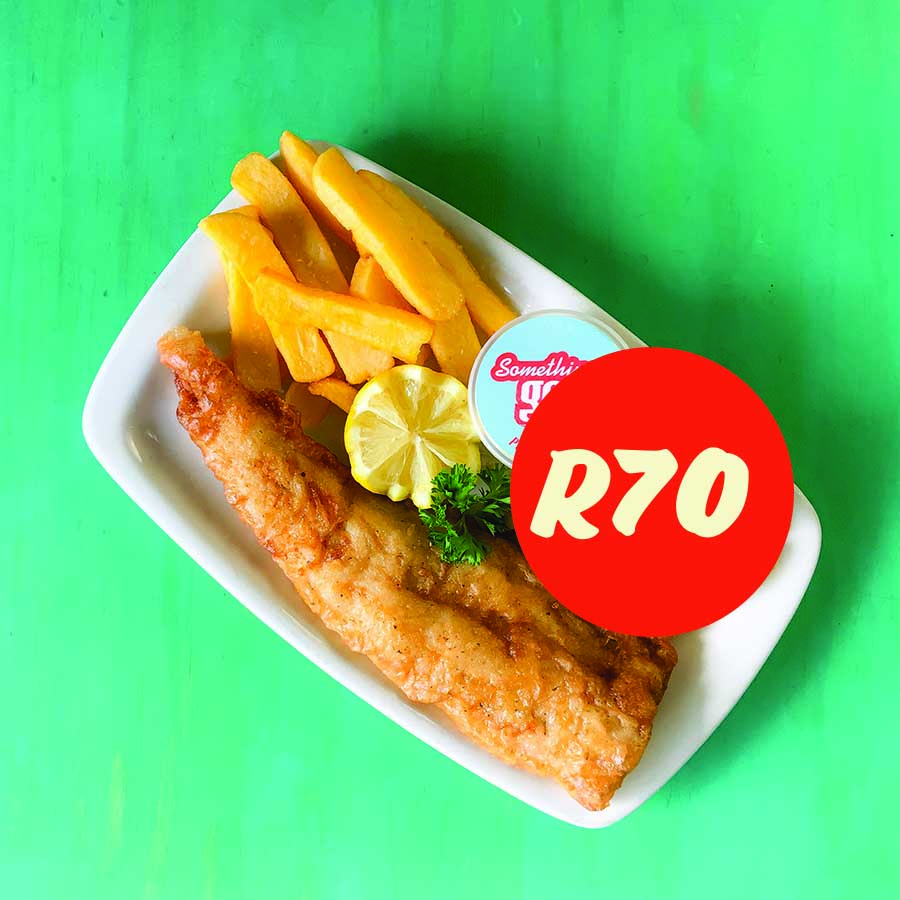Monday Fish & Chips Special